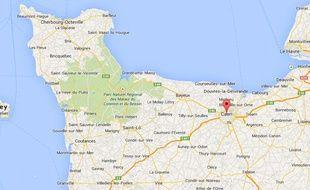 Google Map de la ville de Caen