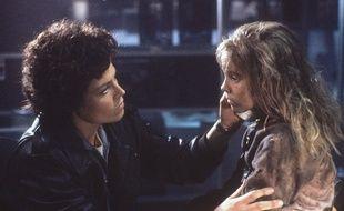 Sigourney Weaver dans Aliens (1986).
