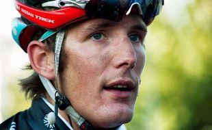 Le coureur luxembourgeois Andy Schleck en Chine en 2012.