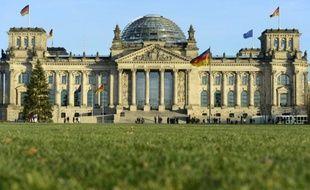 Le Bundestag le 16 décembre 2013 à Berlin
