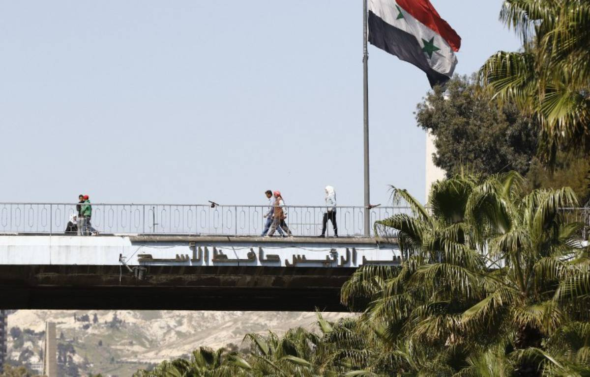 Damas, en Syrie – LOUAI BESHARA / AFP
