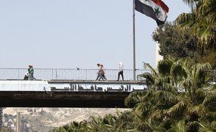 Damas, en Syrie