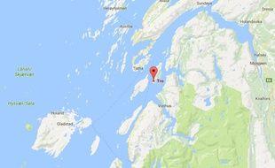 L'île de Tro, en Norvège