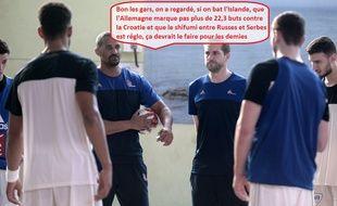 On sera peut-être pas si loin de ça lors du tour principal du Mondial de handball.