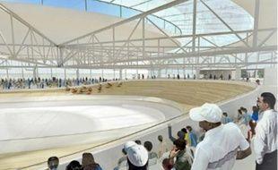 Le futur vélodrome de Roubaix doit être opérationnel avant mars 2012. La première pierre a été posée samedi.