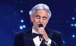 Le ténor Andrea Bocelli