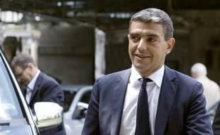 Le conseiller en communication Ramzi Khiroun, le 3 juin 2013 à Paris.