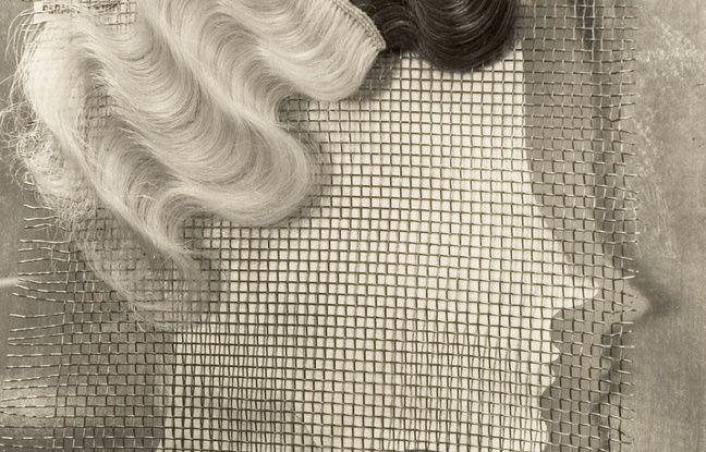 « Komol, publicité pour une teinture capillaire», 1932, d'Ellen Auerbach