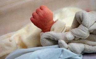 Illustration d'un bébé.