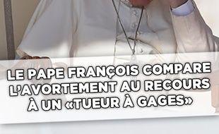 Le pape François y est encore allé de sa petite polémique cette semaine.