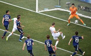 Bednarek ouvre le score pour la Pologne