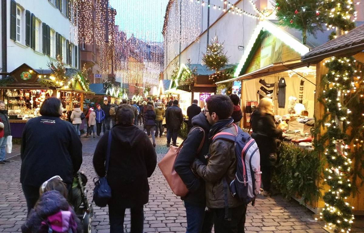 Attentat à Berlin: Reportage au marché de Noël de Fribourg – A. Ighirri / 20 Minutes
