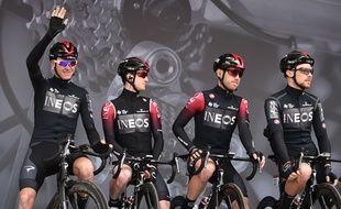 Ineos, le nouveau sponsor de la team Sky