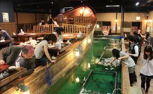 Le restaurant Zauo à Tokyo.