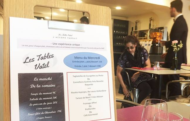 Le restaurant Les Tables Vatel, quai des Chartrons à Bordeaux