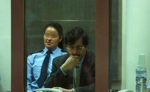 Marc Dutroux lors de son procès en juin 2004 en Belgique.