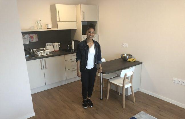 Sonia, 22 ans, est logée gratuitement dans une résidence services pour seniors à Nantes