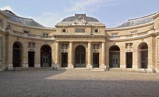 La cour d'honneur du bâtiment de la Monnaie de Paris