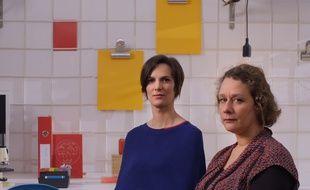 """Image tirée du documentaire """"Harcèlement sexuel au travail : l'affaire de tous"""""""