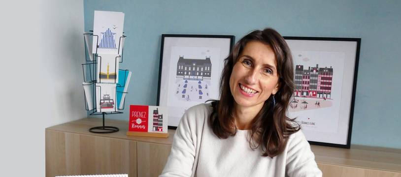 Valérie-Anne Laudet a lancé la marque Far Bay en 2016 à Rennes.