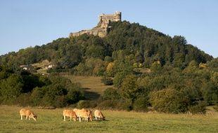 Le château de Murol (Puy-de-Dôme).