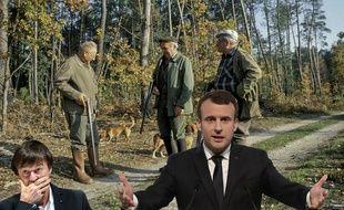 Emmanuel Macron aime la chasse.
