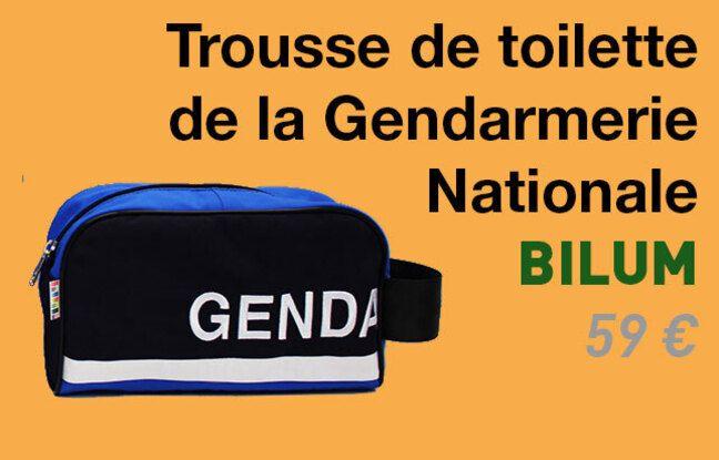 Trousse de toilette de la gendarmerie par Bilum