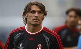 Paolo Maldini, fils de Cesare Maldini, lors de la finale de la Ligue des Champions à Athènes le 22 mai 2007
