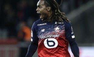 La joie de Renato Sanches après son but inscrit face à Montpellier