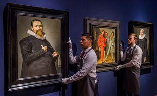 Deux portraits réalisés par le maître néerlandais Frans Hals (illustration).