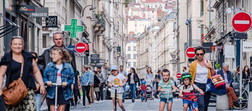 Pour accompagner la réouverture des commerces non essentiels le 28 novembre, la ville de Lyon va piétonniser de nouveau certains quartiers.
