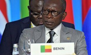 Le président du Bénin, Patrice Talon, le 24 octobre 2019.