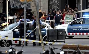 Barcelone frappée par un attentat