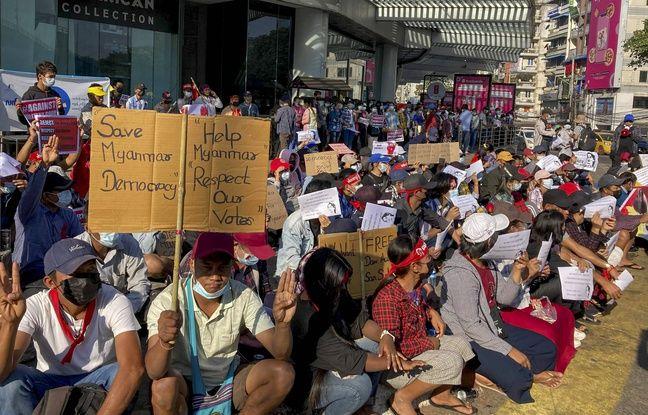 648x415 depuis jours manifestations enchainent birmanie contre putsch militaire