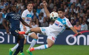 OM-Bastia lors de la 38e journée de Ligue 1, le 20 mai 2017.
