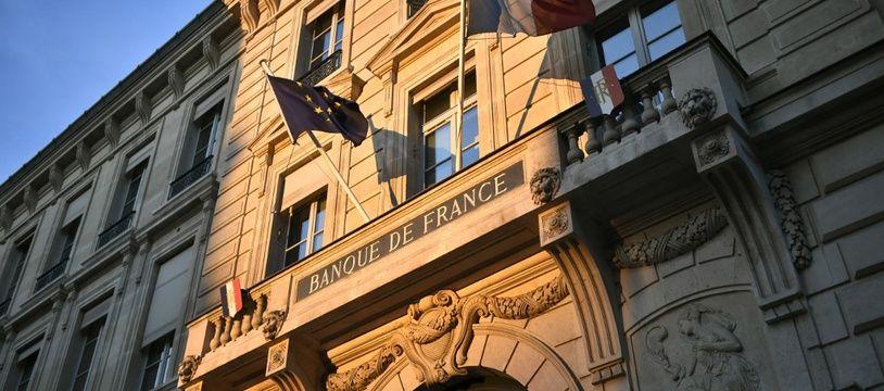 La Banque de France à Paris (image d'illustration).
