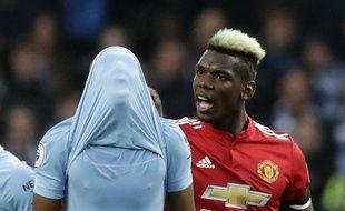Auteur d'un doublé, Paul Pogba a offert le derby à Manchester United (2-3) et empêché City d'être sacré champion d'Angleterre.