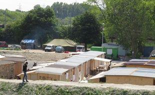 Dans le camp de Grande-Synthe, en juin 2016