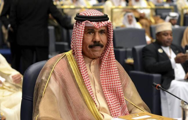 Le prince Nawaf Al-Ahmad Al-Sabah, nouvel émir du Koweït, en 2014.