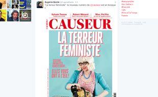 Le magazine Causeur suscite une fois de plus la polémique avec sa une consacrée à