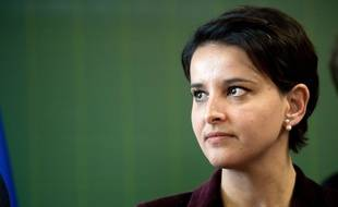 Najat Vallaud-Belkacem, le  22/01/2016 à Paris.
