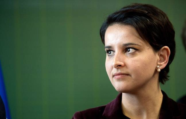Najat Vallaud-Belkacem, le  22/1/2016 à Paris.