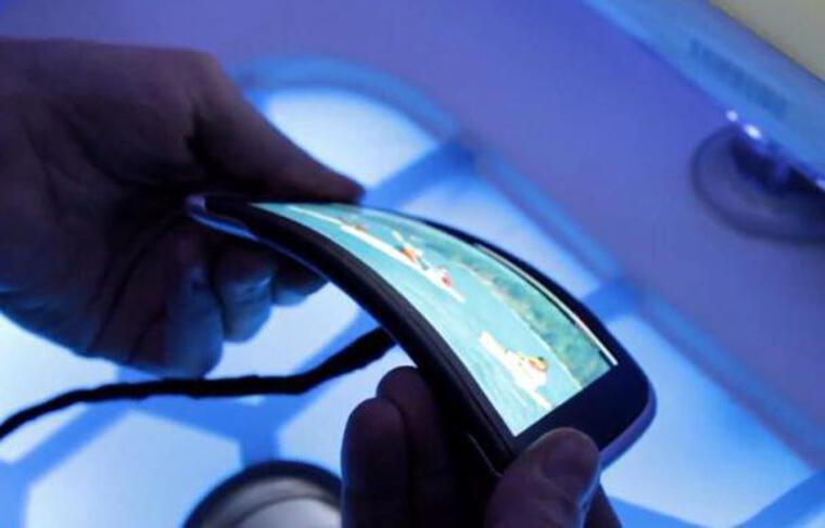 Le Nokia Kinetic, un prototype d'écran flexible intégré à un smartphone.