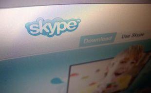 Le système de téléphonie par Internet Skype.