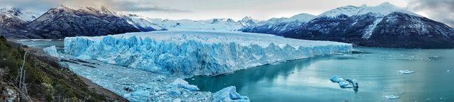 Le glacier Perito Moreno, en Argentine, en août 2017.