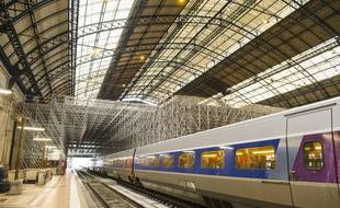 Le chantier de la gare Saint-Jean à Bordeaux