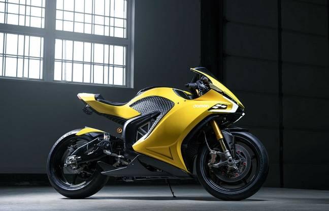 Au CES 2020, la moto électrique Hypersport Pro mise tout sur la sécurité.