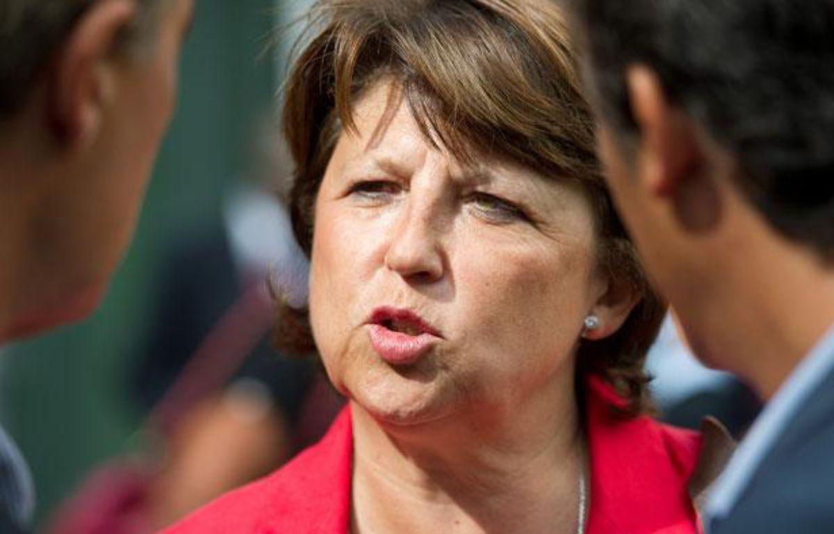 Martine Aubry maire de Lille, candidate aux primaires du PS (Parti Socialiste) à l'election présidentielle de 2012. – ALEXANDRE GELEBART / 20 MINUTES