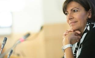 La maire de Paris Anne Hidalgo le 28 mai 2014.