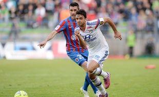 Clément Grenier a participé à 6 des 7 dernières journées de Ligue 1, dont la défaite (3-0) subie à Caen le 9 mai. GUY JEFFROY/SIPA